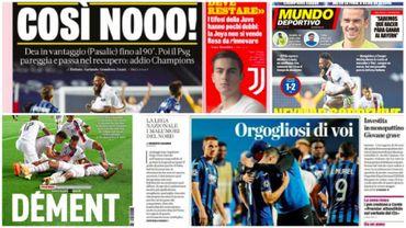 La presse européenne encense Tuchel et félicite l'Atalanta