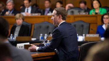 Mark Zuckerberg auditionné par les sénateurs américains