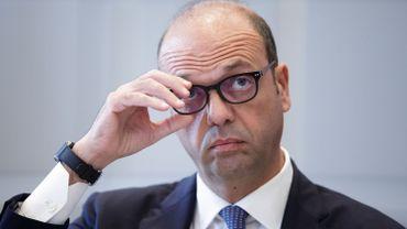 Le ministre italien des Affaires étrangères, Angelino Alfano.