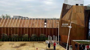 Le pavillon belge de l'exposition universelle de Milan
