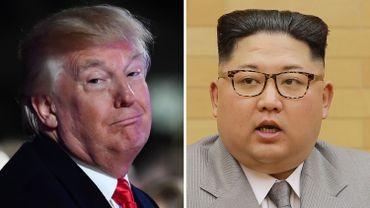 """Corée du Nord: Trump dit avoir un bouton nucléaire """"plus gros"""" que celui de Kim Jong-Un"""