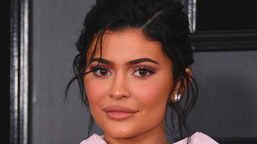 Kylie Jenner lors de la 61ème cérémonie des Grammy Awards.