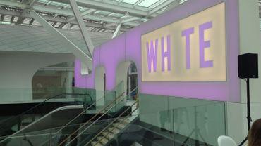 L'entrée du cinéma au troisième étage du nouveau centre commercial