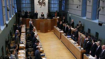 Séance du Parlement wallon