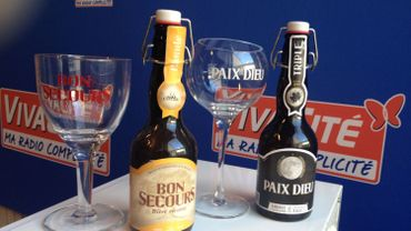 La bière Paix Dieu et Bon Secours de la Brasserie Caulier, les pigeons ont testé !