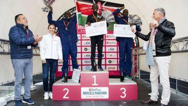 Lors du marathon de Bruxelles, homme et femme n'avaient pas gagné la même chose.