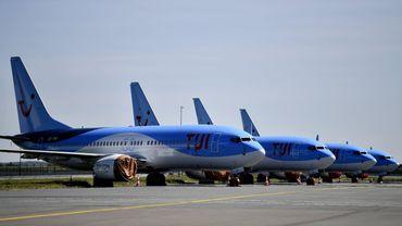Des avions aux couleurs de TUI à Brussels Airport