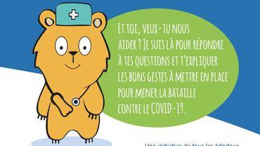 Covid 19: une brochure spécialement destinée aux enfants  de huit à douze ans