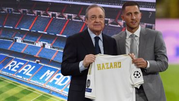 Eden Hazard, à droite