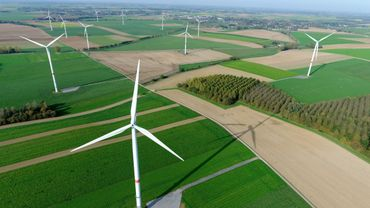 Les sept nouvelles éoliennes produiront plus de deux fois plus d'énergie que les huit éoliennes qui seront démontées.
