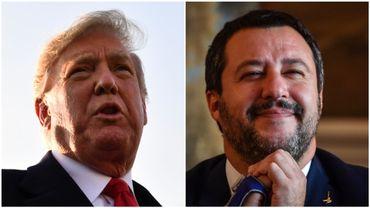 Donald Trump et Matteo Salvini n'ont pas tardé à adresser leurs félicitations à Jair Bolsonaro.