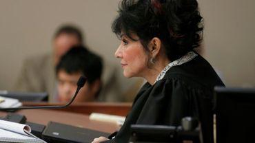 La juge Rosemarie Aquilina, le 24 janvier 2018 à Lansing aux Etats-Unis
