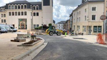 Points sur les travaux dans la commune d'Arlon
