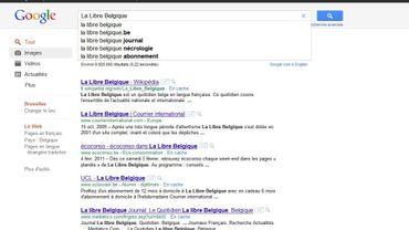 La presse quotidienne belge n'est plus référencée sur Google