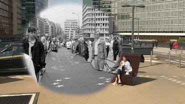 Le quartier européen: un pan entier de Bruxelles à deux pas du centre, remodelé par l'Union européenne.