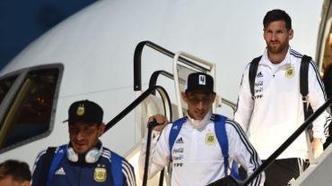 Lionel Messi débarque en Russie