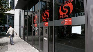 Les bureaux de l'ONEM à Bruxelles.