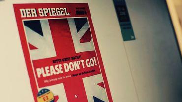 """Brexit: """"Please don't go"""", Der Spiegel supplie les Britanniques de rester dans l'UE"""
