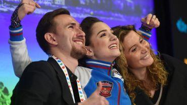 La Russe Evgenia Medvedeva conserve son titre en patinage artistique