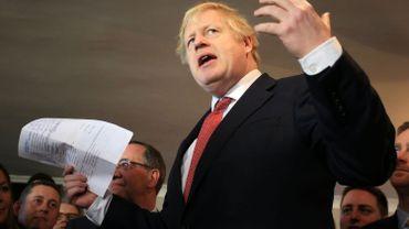 Le Parlement votera le Brexit avant Noël, annonce Boris Johnson