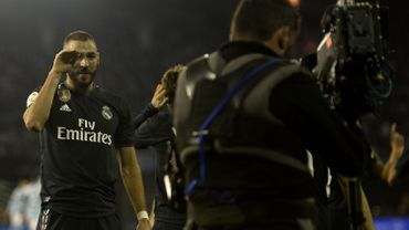 Le patron de Mediapro, détenteur d'une partie des droits du football espagnol, espère que la Liga pourra reprendre en juillet. De nouvelles célébrations en vue pour Karim Benzema ?