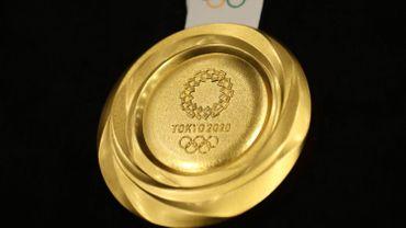 Une médaille d'or aux J.O rapportera 50.000€ aux athlètes belges