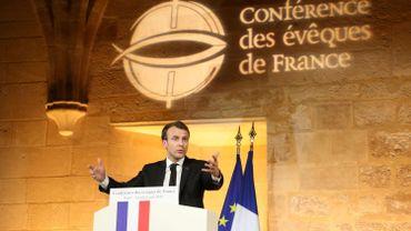 Ce lundi 9 avril, Emmanuel Macron tenait un discours à la Conférence des évêques de France.