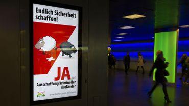 Suisse: vote sur l'expulsion automatique des criminels étrangers