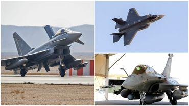 F-35, Rafale ou Eurofighter... Le gouvernement fédéral va étudier les offres pour remplacer le F-16.