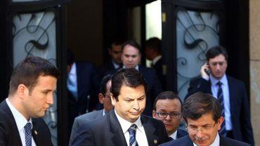 Ahmet Davutoglu, ministre turc des Affaires étrangères
