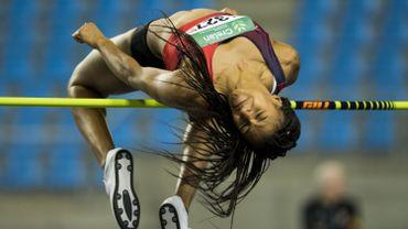 Nafi Thiam championne de Belgique de la hauteur