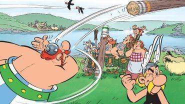 """""""Astérix chez les Pictes"""" de Jean-Yves Ferri et Didier Conrad reste en tête des ventes cette semaine"""
