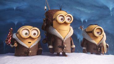 """""""Les Minions"""" sont toujours au sommet du box-office mondial"""