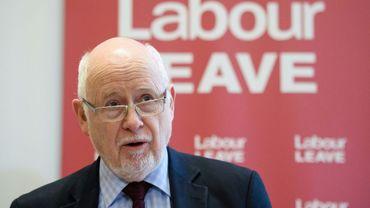 Le député travailliste Kelvin Hopkins, le 20 janvier 2016 à Londres