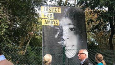 Un rassemblement réclamant la libération d'Amaya Coppens organisé à Louvain-la-Neuve