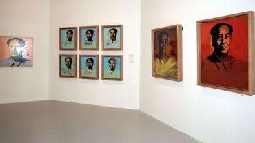 Des portraits de Mao par Andy Warhol