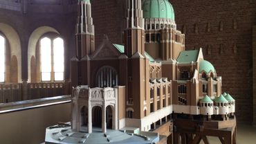 Banad visite la Basilique art déco de Koekelberg.