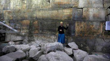 Jérusalem : mise au jour d'une nouvelle partie du mur des Lamentations