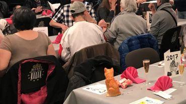 Plus de 200 repas ont été servis aux personnes démunies de Charleroi