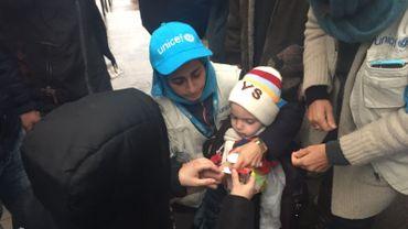 Unicef en opération dans la ville assiégée de Madaya en Syrie