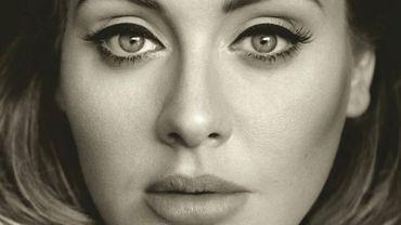 """""""25"""", le troisième album d'Adele, atteint les dix millions de ventes aux Etats-Unis"""