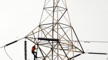 Un poteau électrique - Image d'illustration