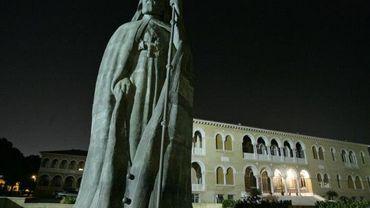 La statue de monseigneur Makarios à Nicosie