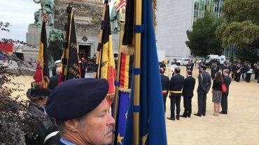 Libération de Bruxelles : les cérémonies sont en cours