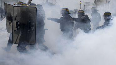 """France : 34.000 manifestants se sont réunis samedi pour la loi """"sécurité globale"""""""