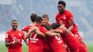 Germany Bundesliga - TSG 1899 Hoffenheim vs FC Bayern Munich