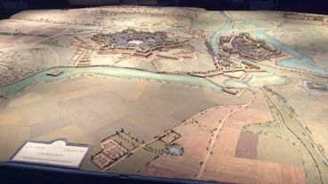 Le plan-relief de Charleroi
