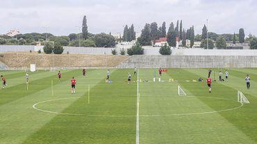 L'entraînement à Benfica