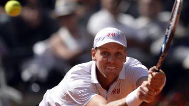 Berdych sort Djokovic et va en demies à Rome