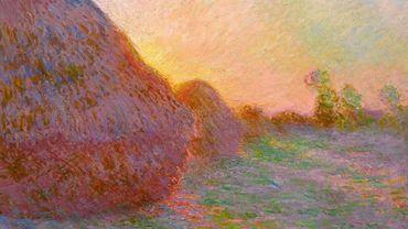 """Les """"Meules"""", de Claude Monet, sont la seule œuvre à avoir dépassé les 100 millions en 2019."""